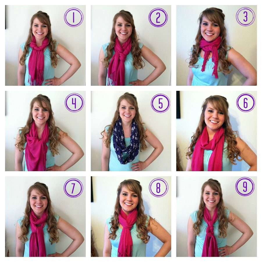 How To Tie A Scarf: 9 Easy Ways