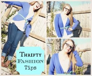 6 Thrifty Fashion Tips
