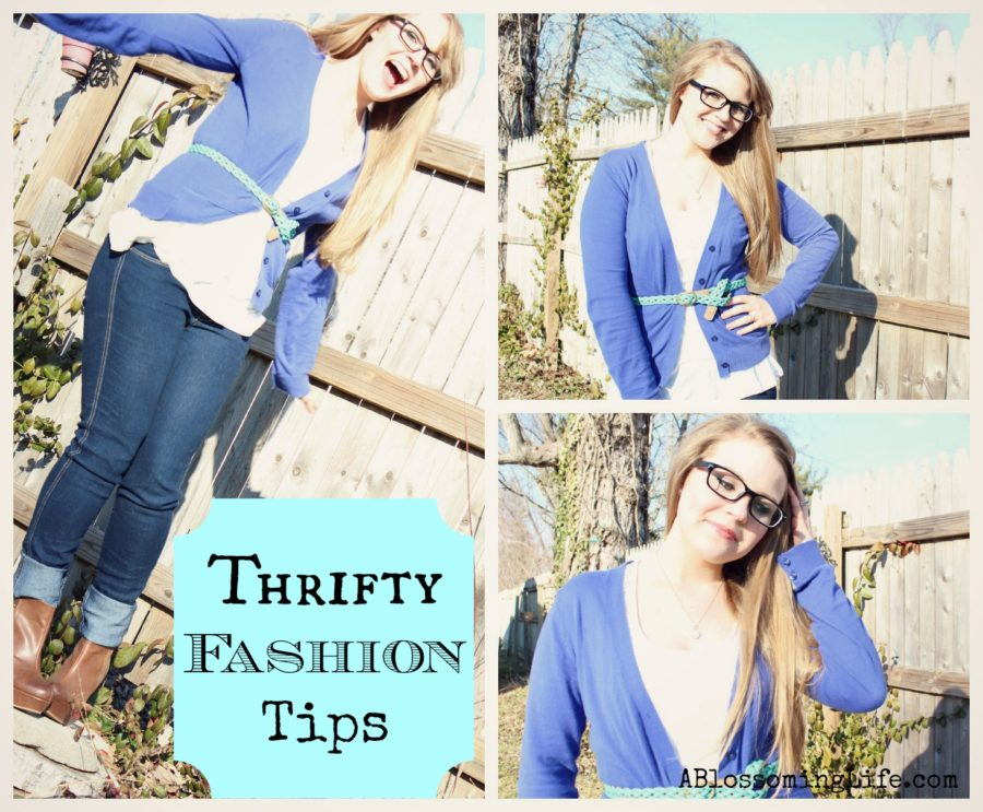 Thrifty Fashion Tips