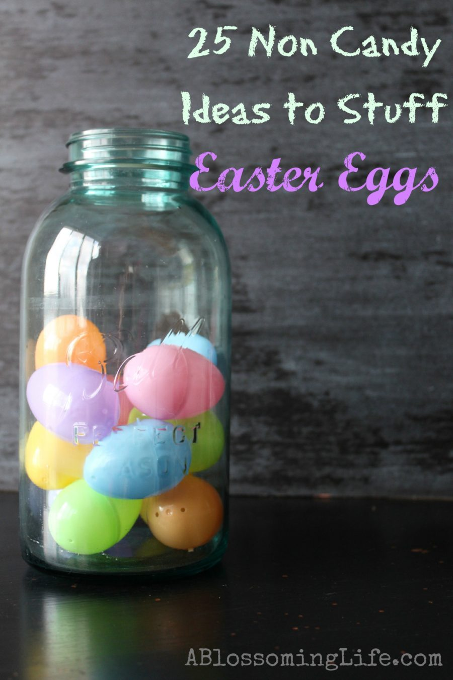 25 non candy ideas to stuff easter eggs