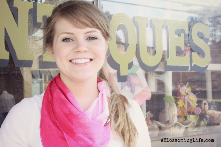 Ombre scarf photo 2