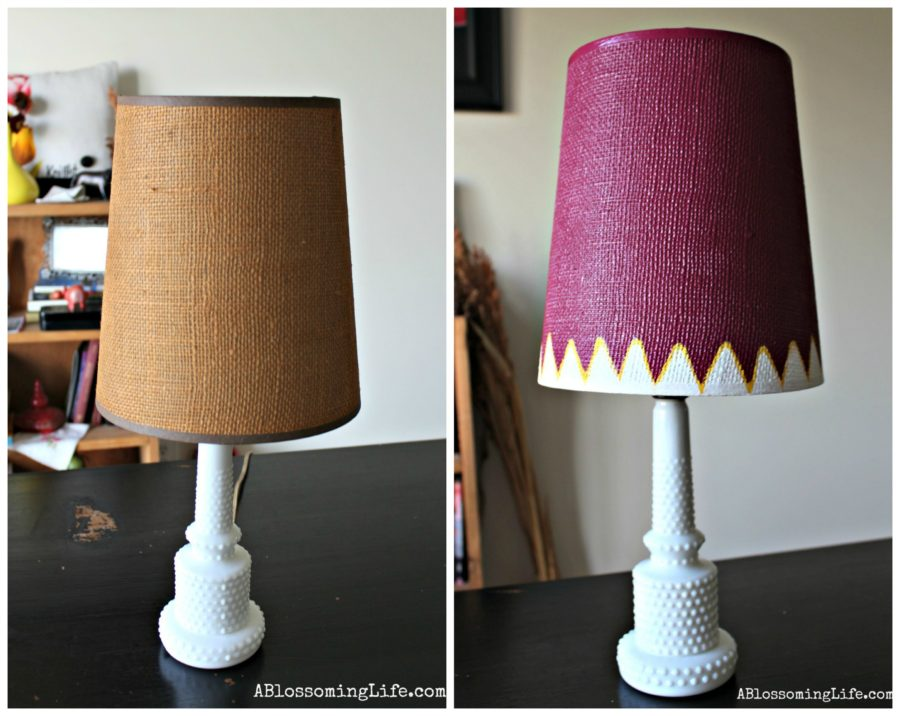 lampshade redo Collage