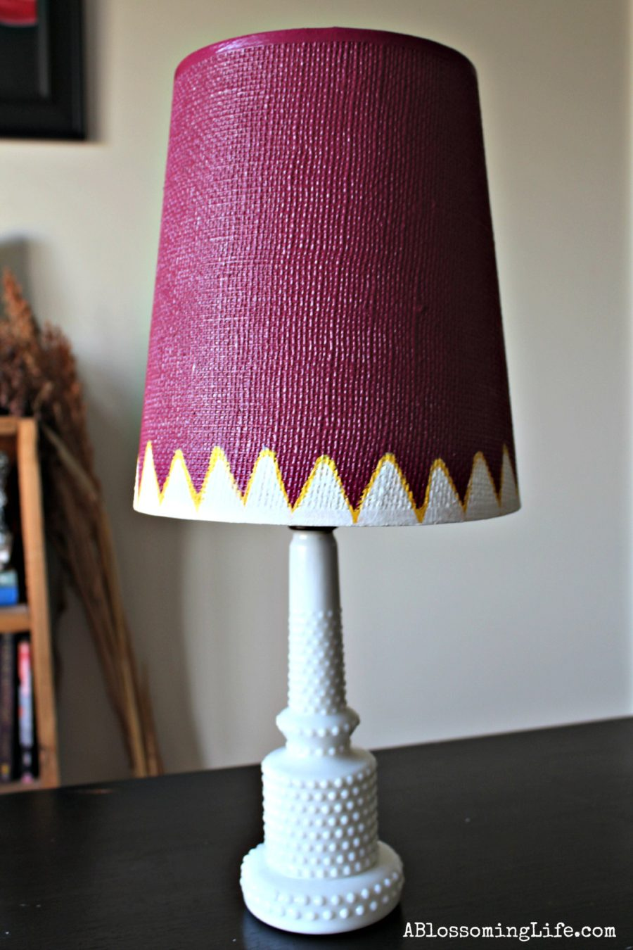 Free Lampshade Makeover