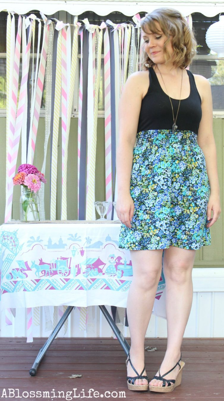 Thrifty Summer Dress