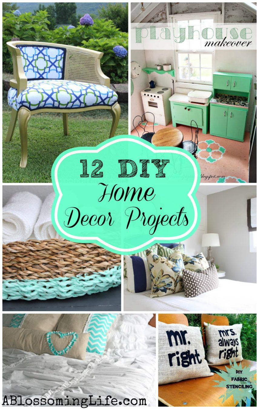 Beautiful 12 Inspiring DIY Home Decor Projects
