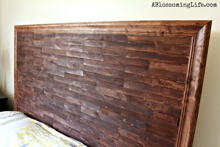 Diy Staggered Wood Headboard Images