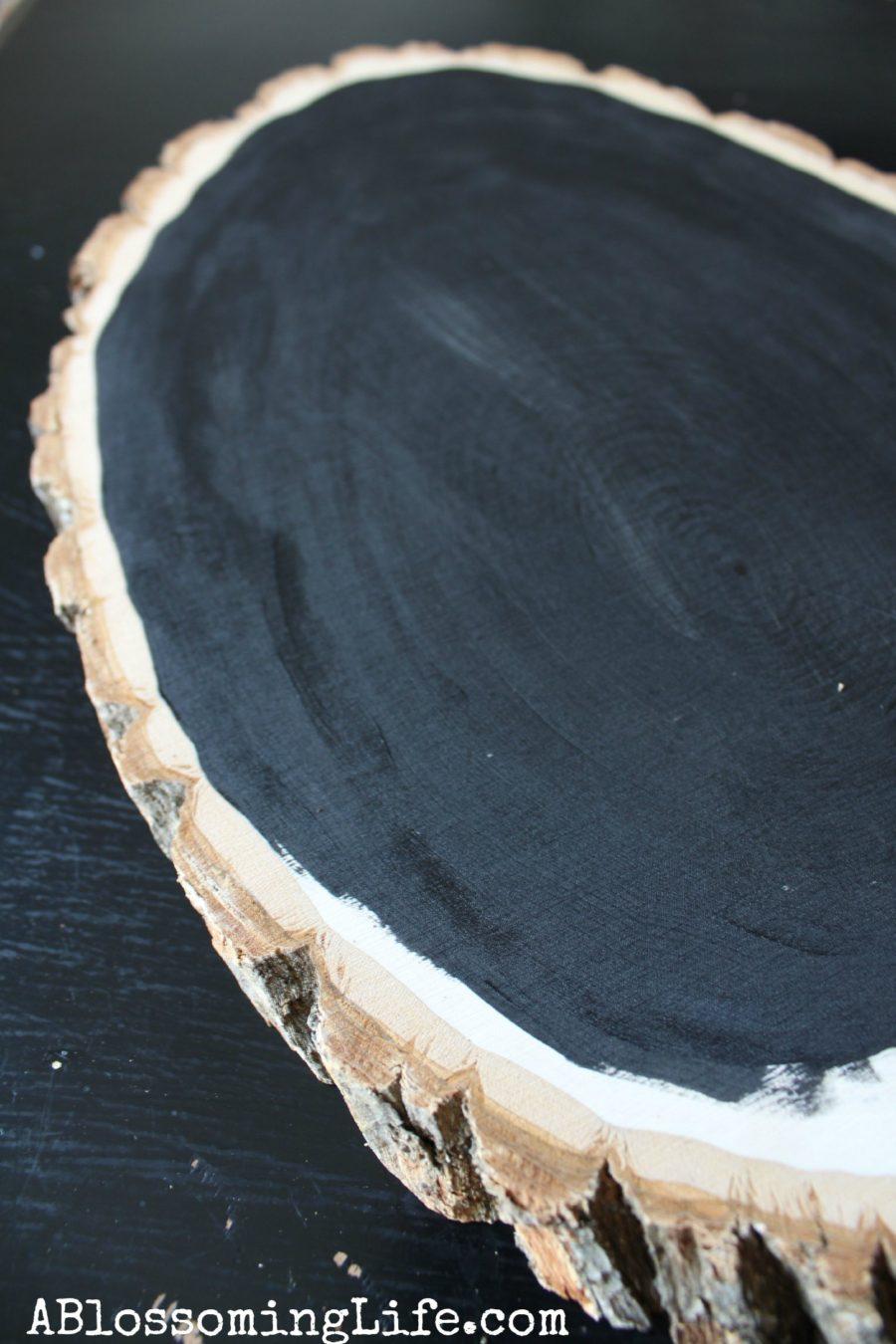 DIY Rustic Wood Chalkboard