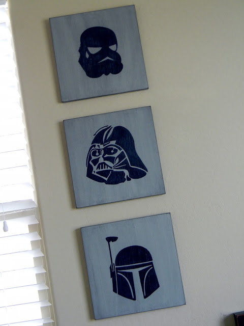 DIY Star Wars Wall Art 3
