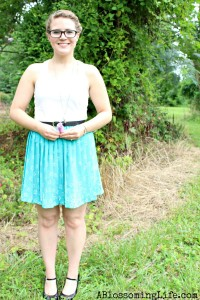 80's Pleated Dress to Fabulous Skirt DIY
