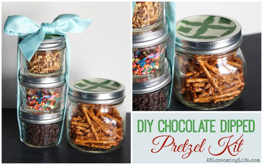 chocolate dipped Pretzel Kit