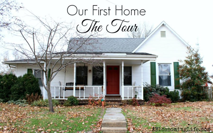 Our first home The tour