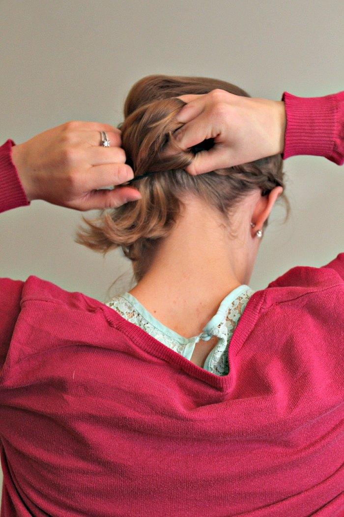 Braid Updo Step 5