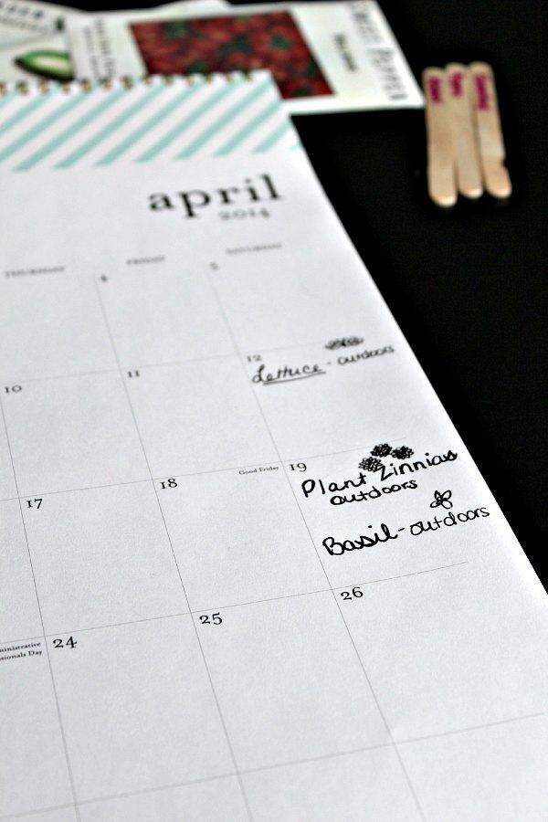 gardening calendar 2