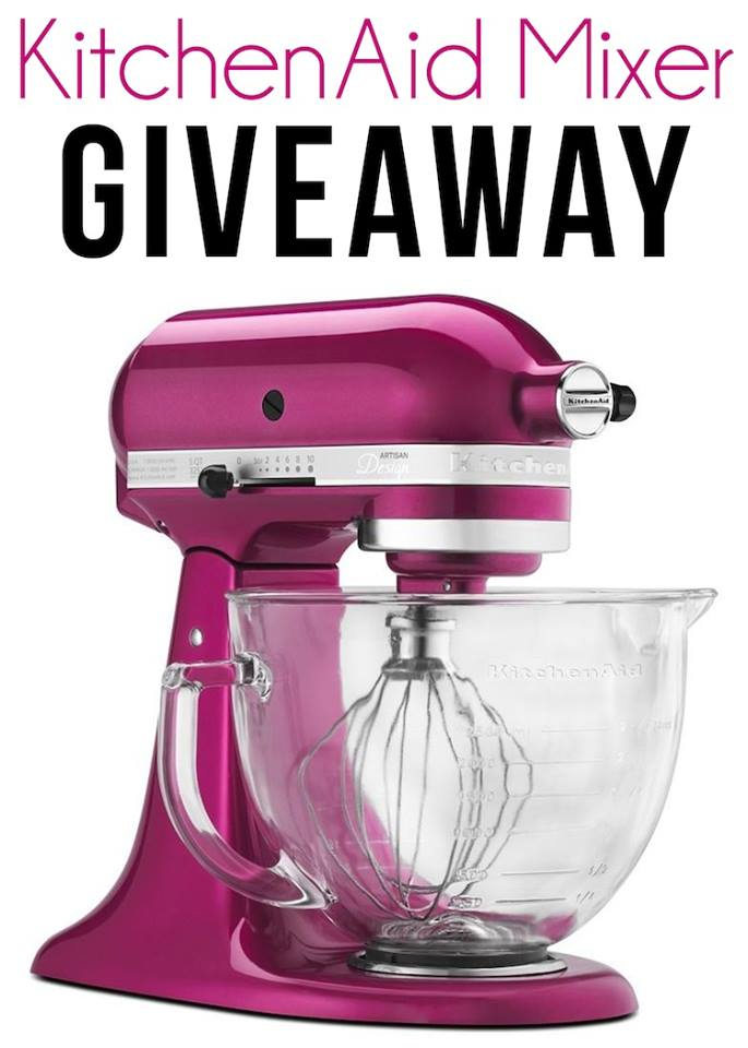 KitchenAid Stand Mixer and $100 Amazon Gift Card Giveaway!