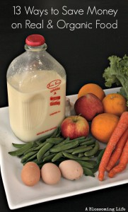 13 Ways to Save Money on Real Food and Eat Organic
