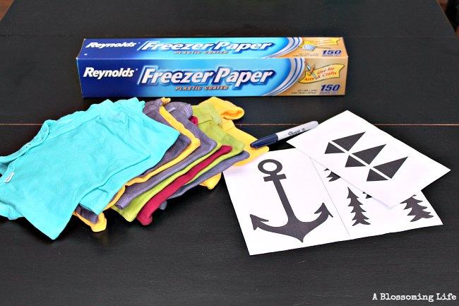 diy onesies materials