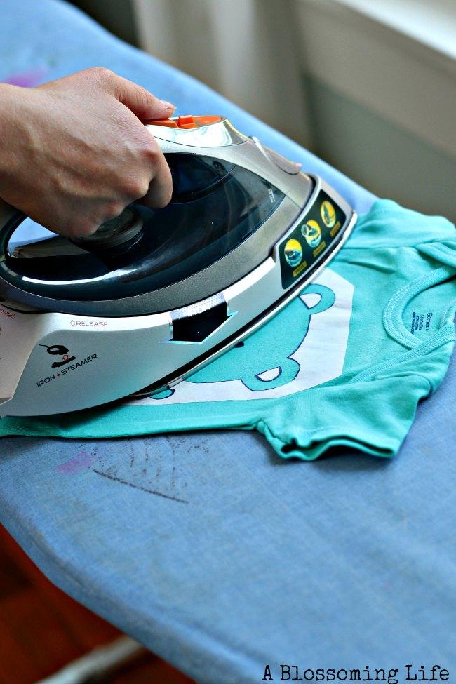 ironing freezer paper
