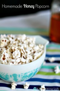 Homemade Honey Popcorn