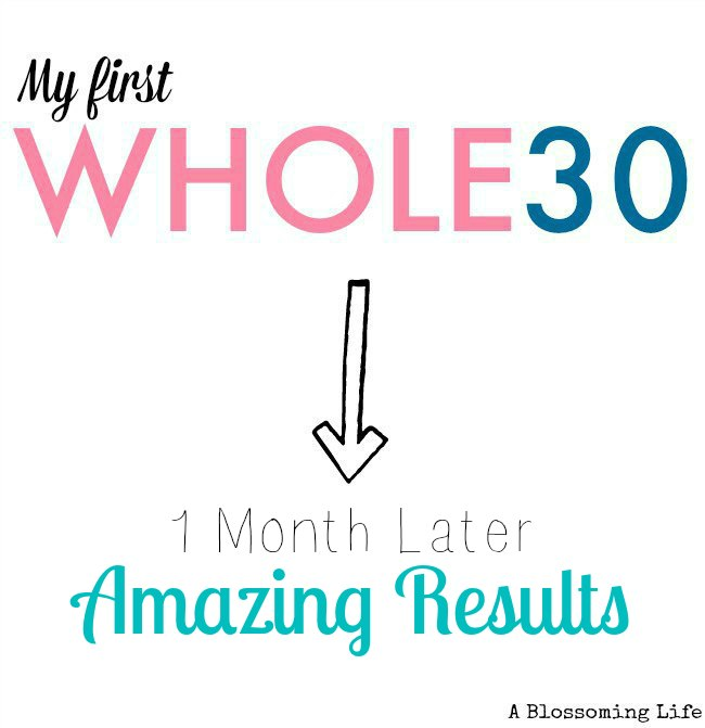 Whole30 1 month later with amazing results