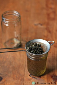 DIY Herbal Infused Oils