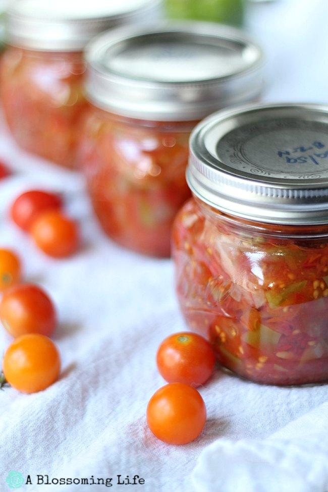 Canning Homemade Salsa