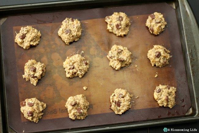 Cookies before baking