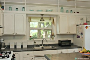 Kitchen Island Redo & Kitchen Tour