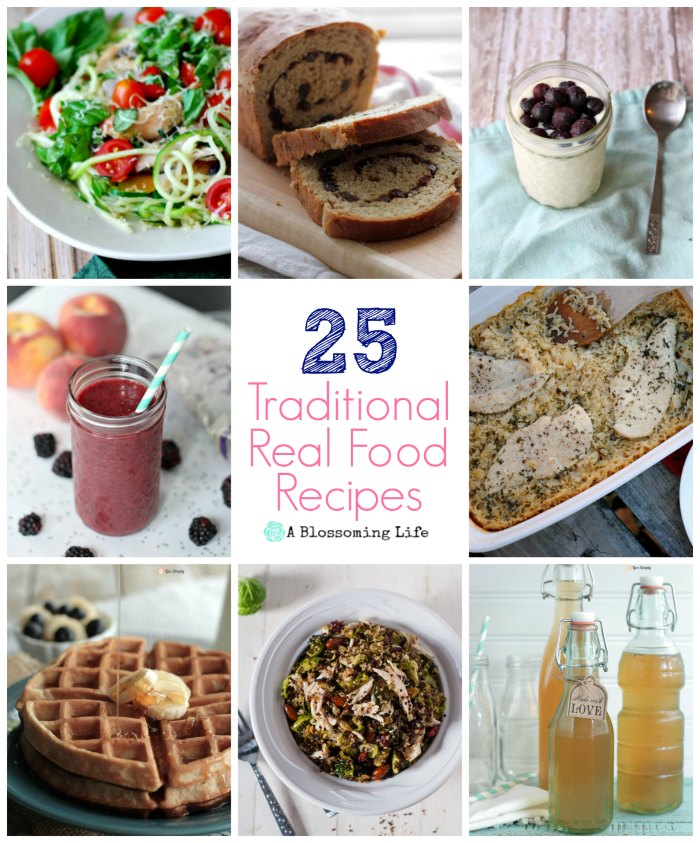 25 Traditional Real Food Recipes