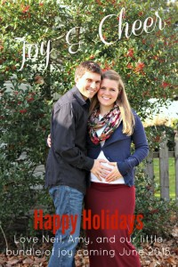 Happy Holidays & Oh Hey I'm Pregnant!