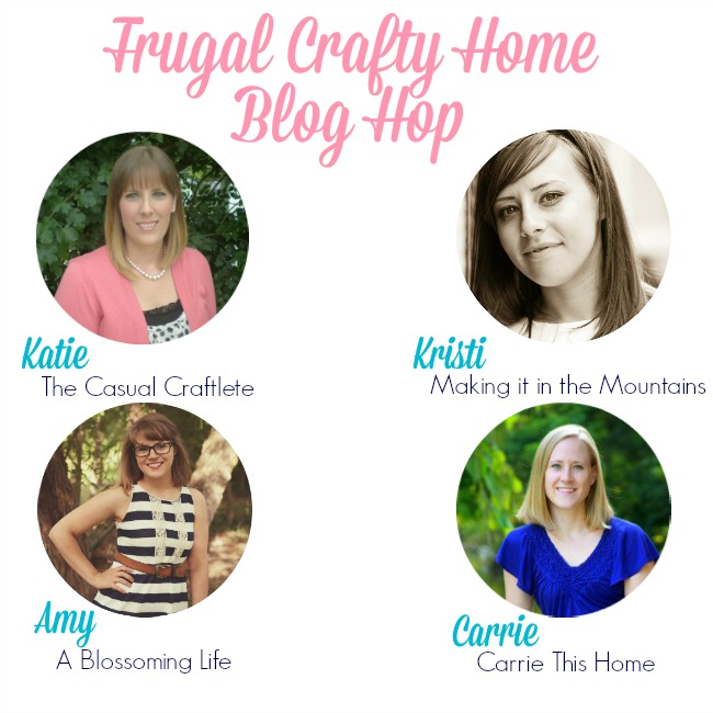 Frugal Crafty Home Blog Hop #110