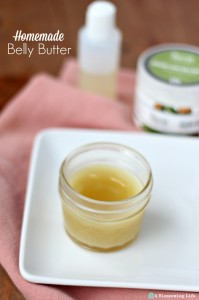 Homemade Belly Butter & 5 Ways to Help Prevent Stretch Marks