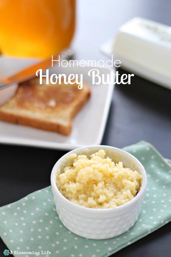 Homemade Honey Butter Recipe