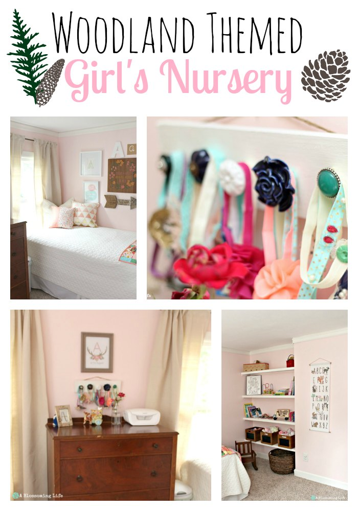 Woodland Themed Girl's Nursery