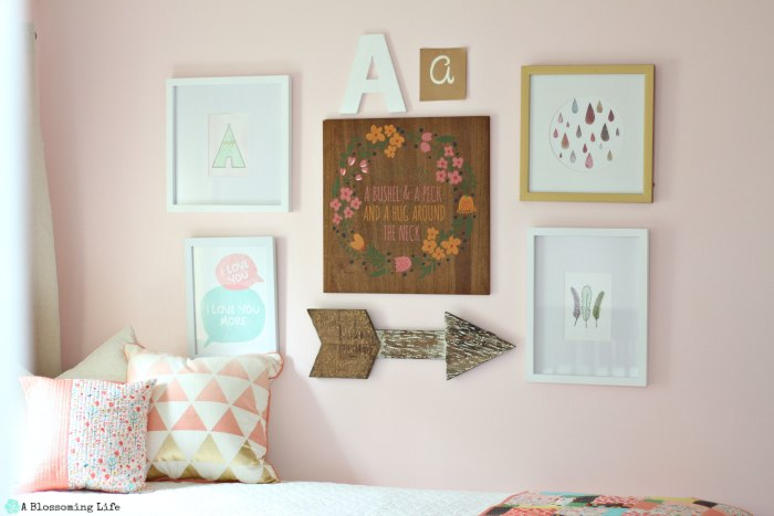 Woodland Themed Nursery Gallery Wall