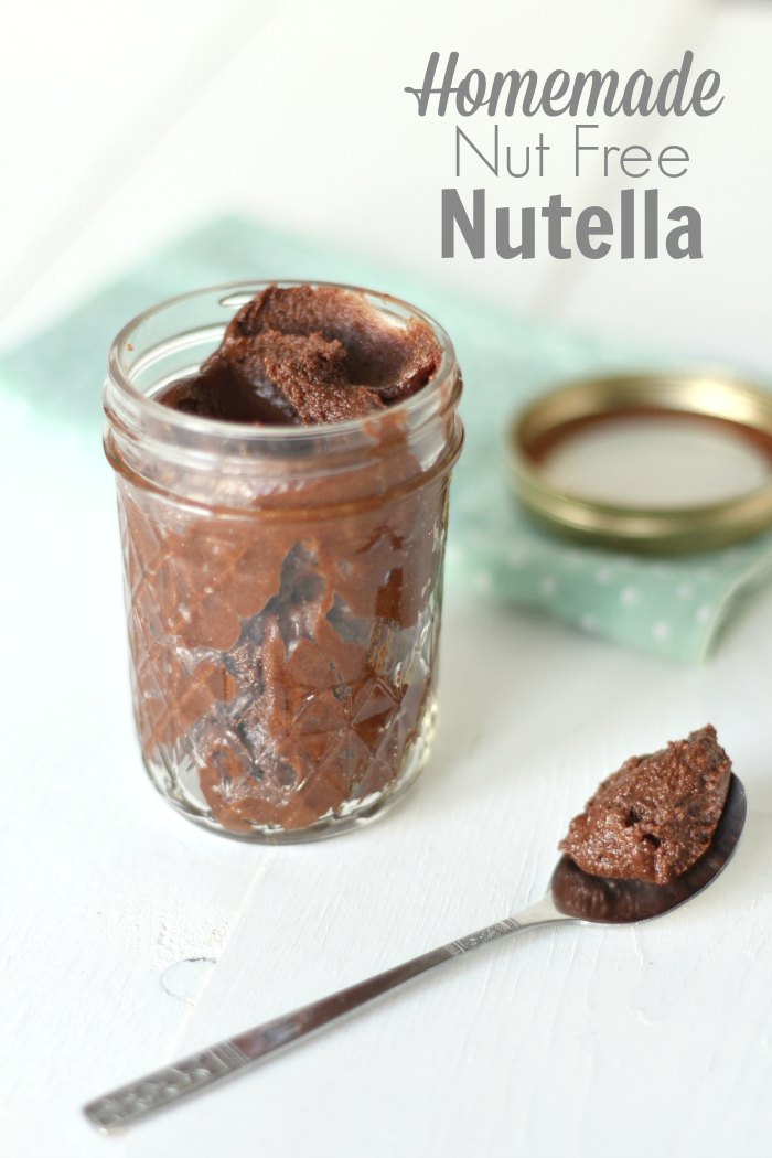 Homemade Nut Free Nutella