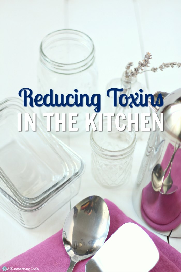 How to Reduce Toxins in the Kitchen
