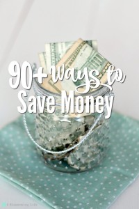 90 Ways to Save Money