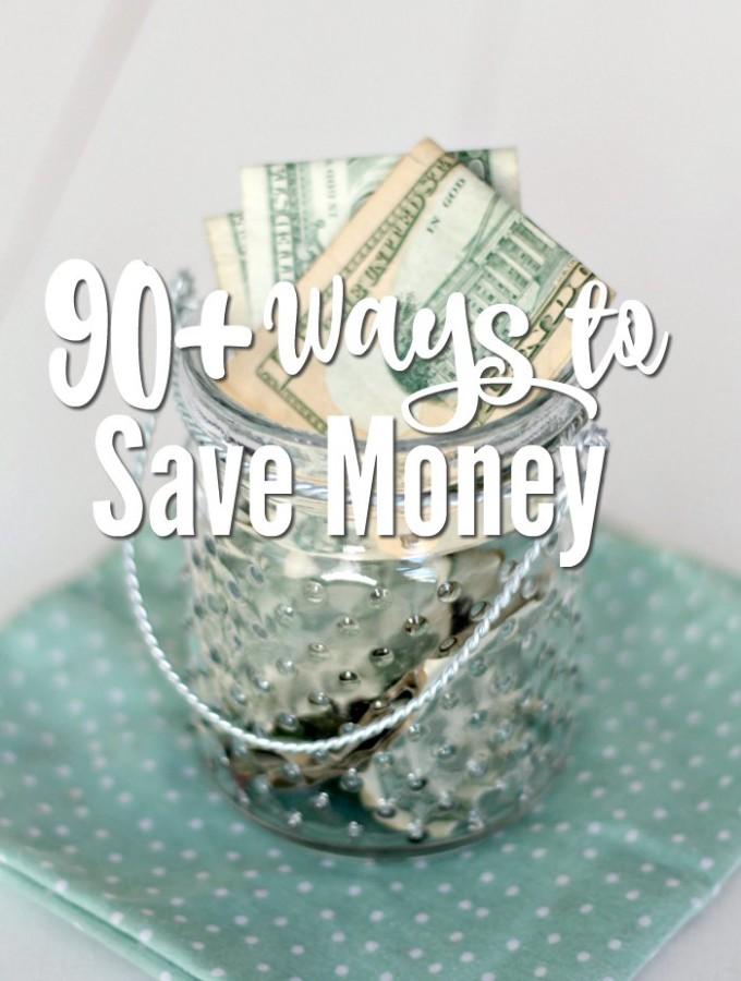 90 Ways to Save Money
