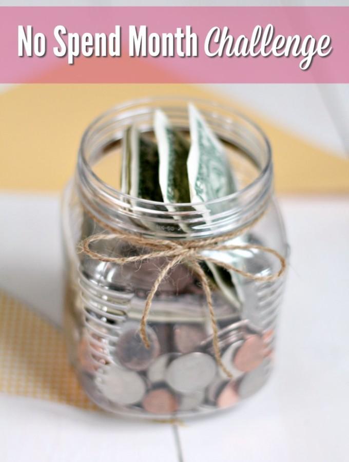 No Spend Month Challenge