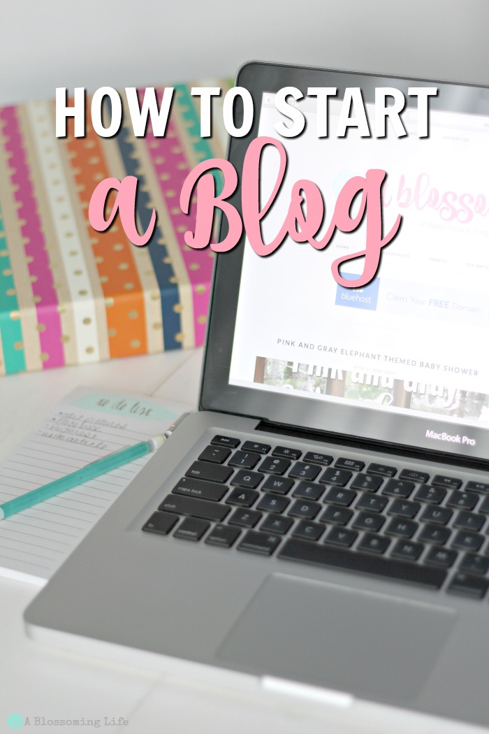 How to Start a Blog- in a few easy steps