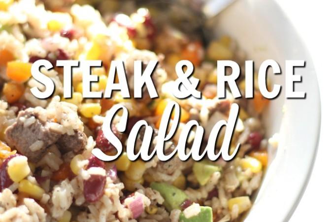 Steak And Rice Salad