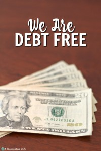 We Are Debt Free