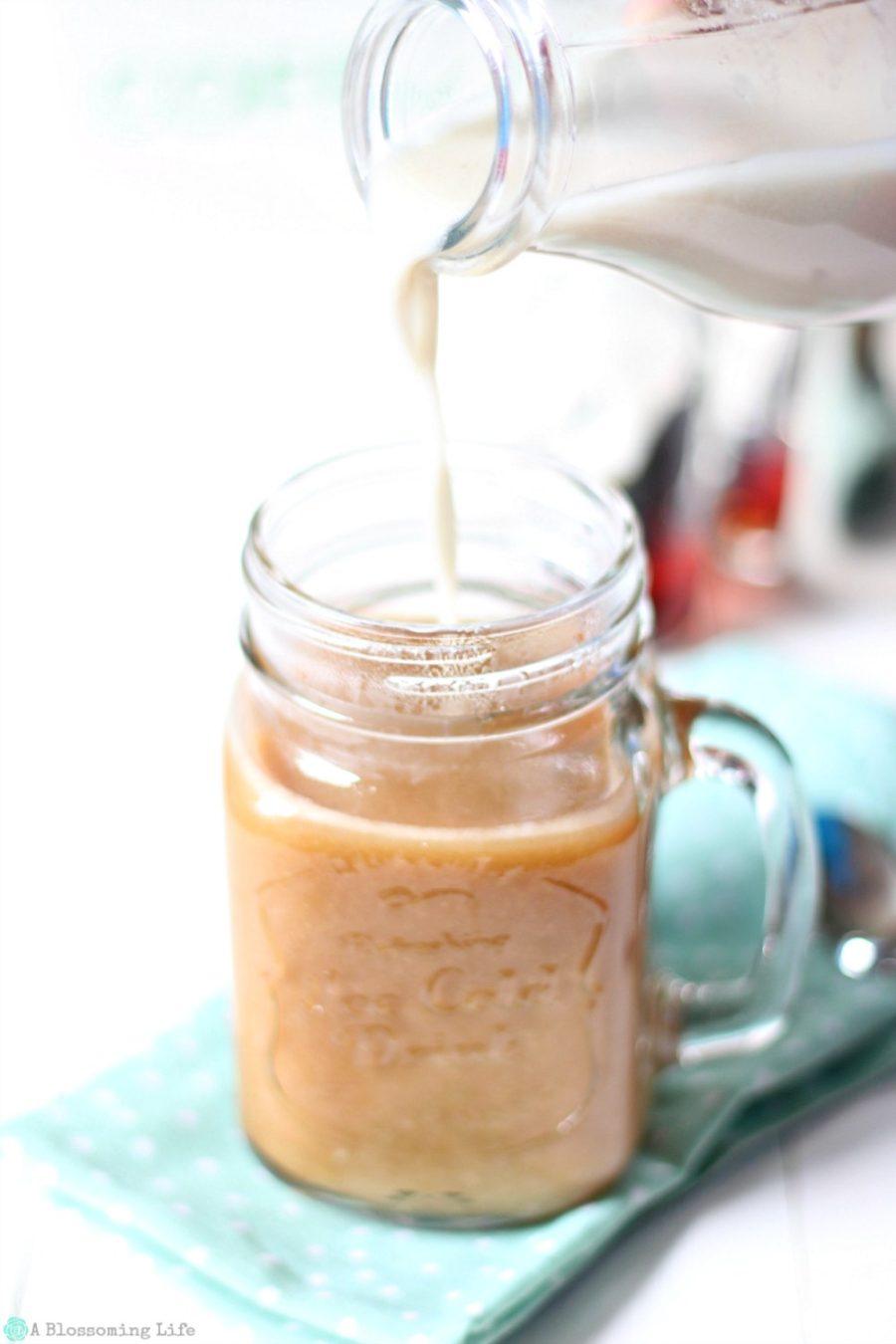 Homemade Coffee Creamer With Dairy Free Option