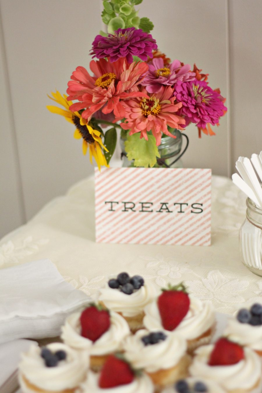 Treat sign from Minted