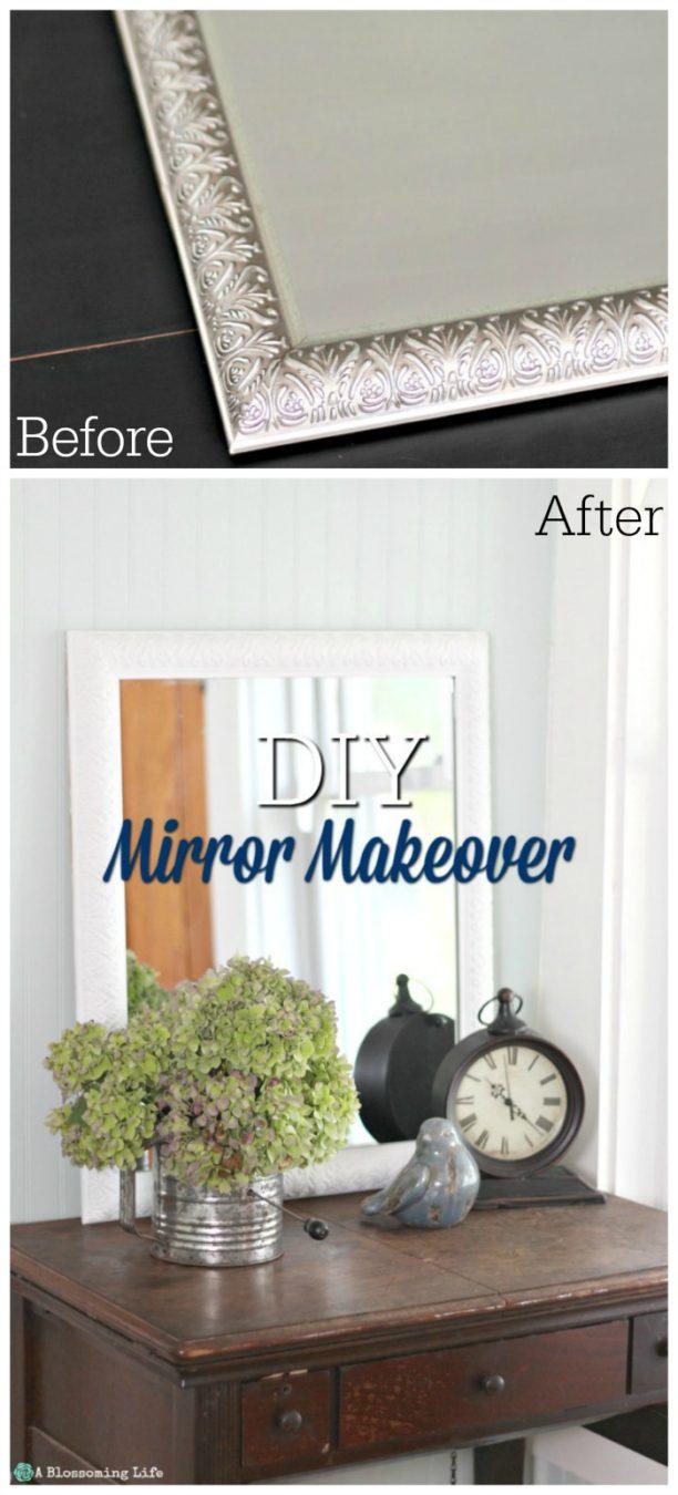 Yard Sale Mirror Makeover