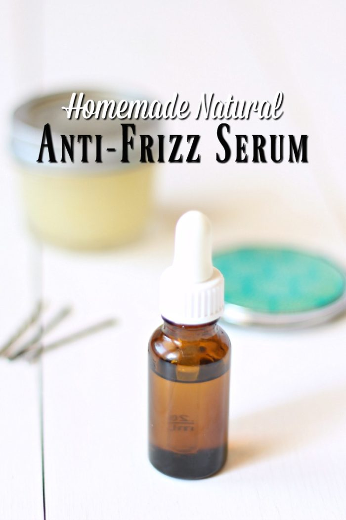 Homemade Natural Anti-Frizz Serum