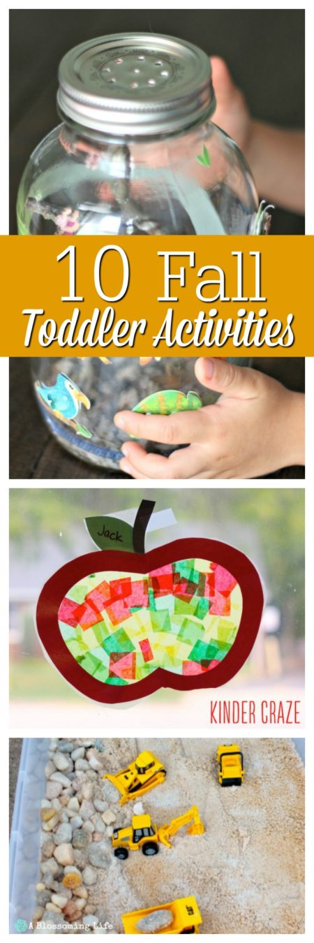 10 Fall Toddler Activities