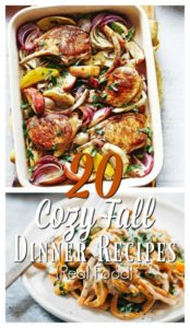20 Cozy Falltime Dinner Recipes {Real Food}