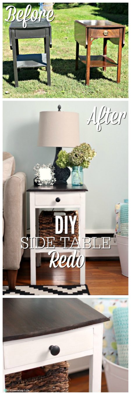 turn-an-ugly-side-table-into-a-beautiful-farmstyle-table