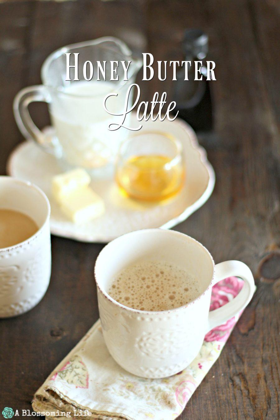 Honey Butter Latte